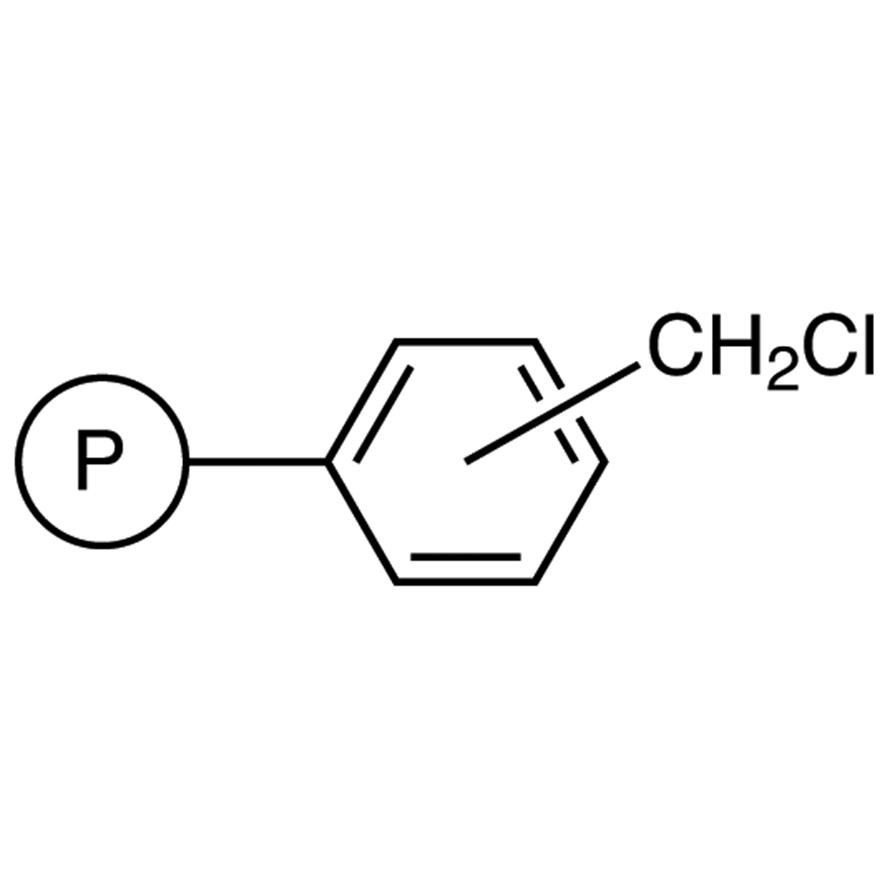 Chloromethyl Polystyrene Resin cross-linked with 1% DVB (200-400mesh) (0.8-1.3mmol/g)