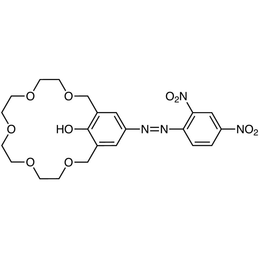 18-Crown-5 [4-(2,4-Dinitrophenylazo)phenol]