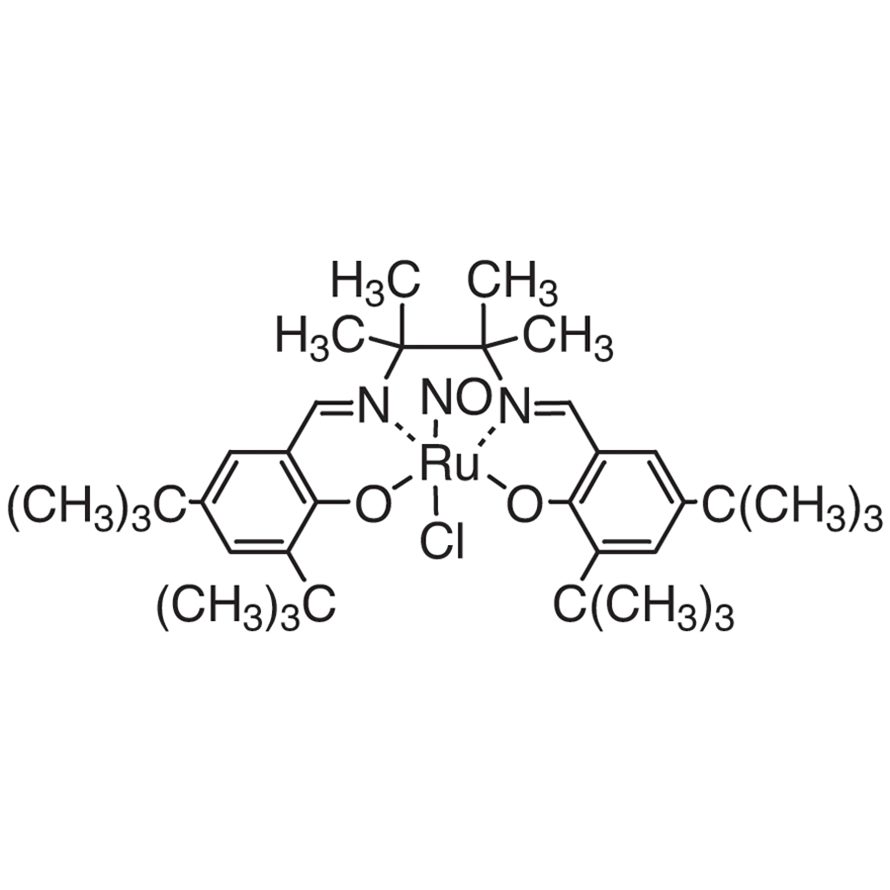Chloronitrosyl[N,N'-bis(3,5-di-tert-butylsalicylidene)-1,1,2,2-tetramethylethylenediaminato]ruthenium(IV)