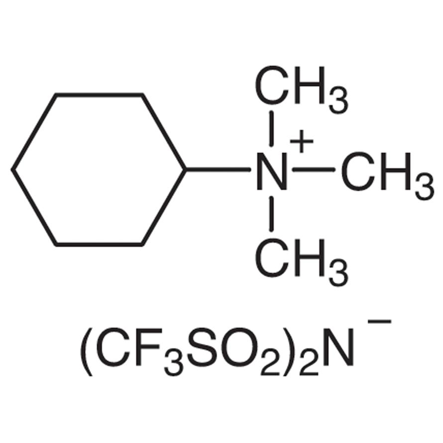 Cyclohexyltrimethylammonium Bis(trifluoromethanesulfonyl)imide