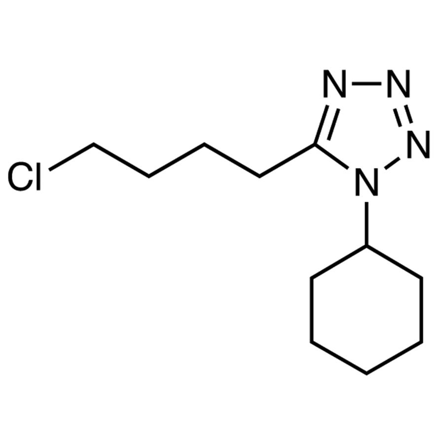 1-Cyclohexyl-5-(4-chlorobutyl)-1H-tetrazole