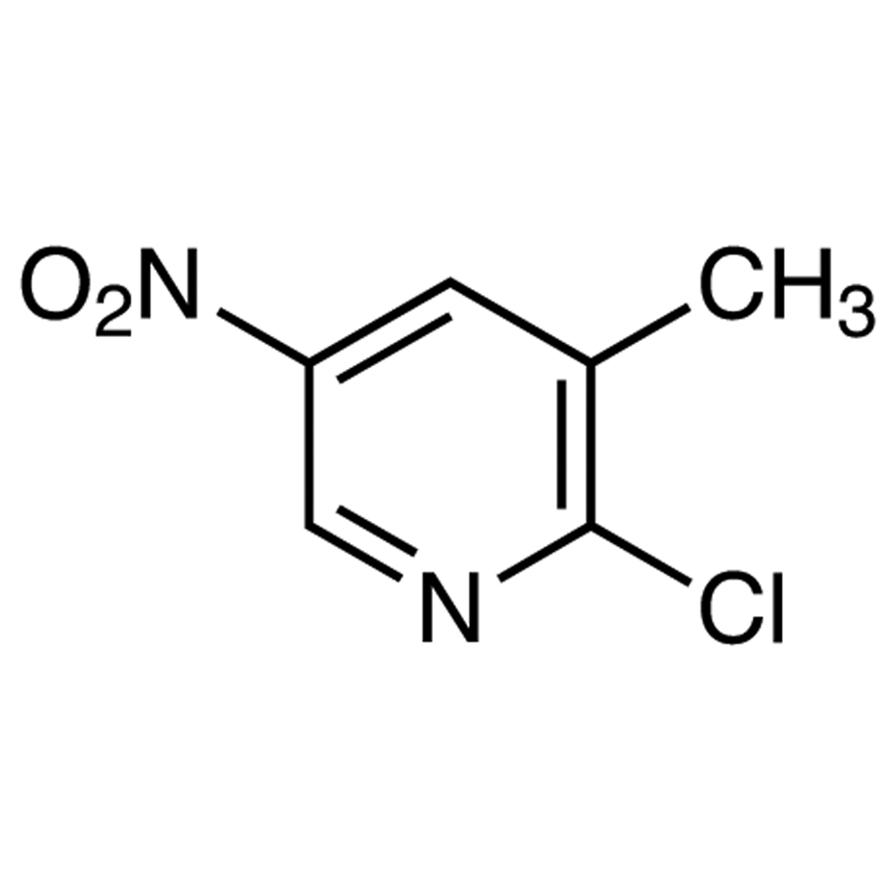 2-Chloro-3-methyl-5-nitropyridine