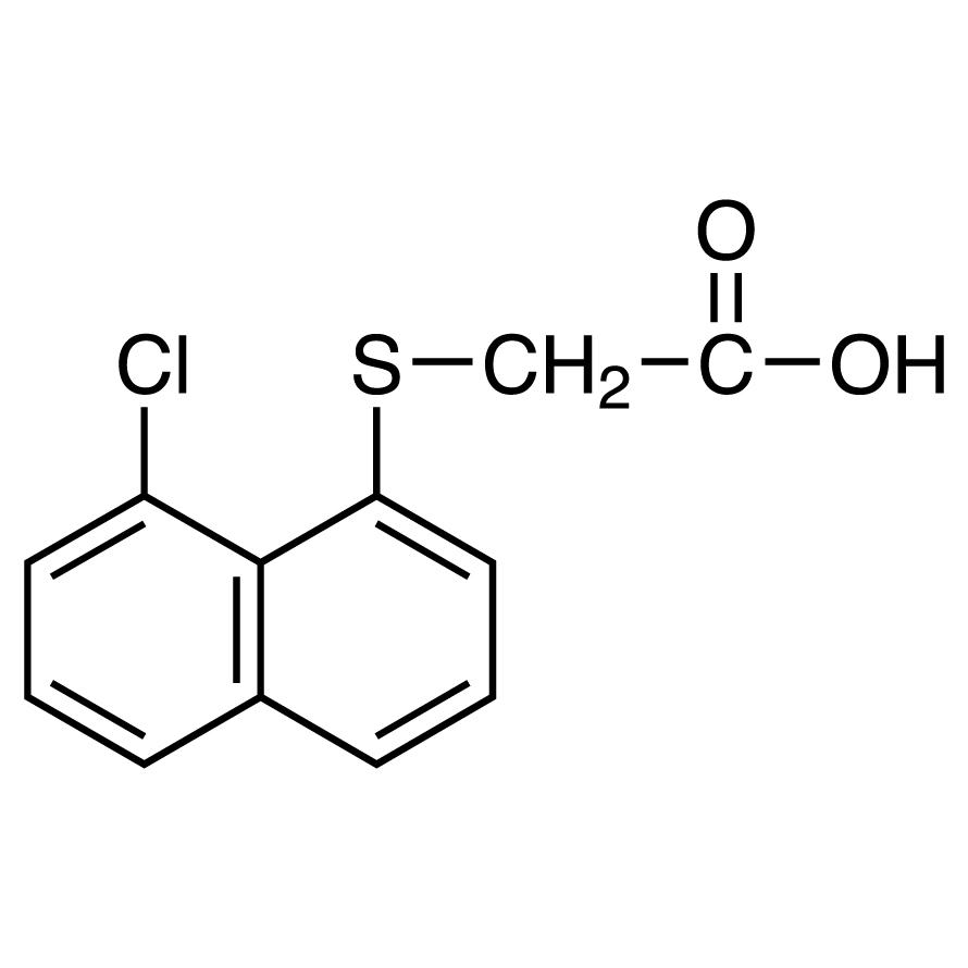 (8-Chloro-1-naphthylthio)acetic Acid