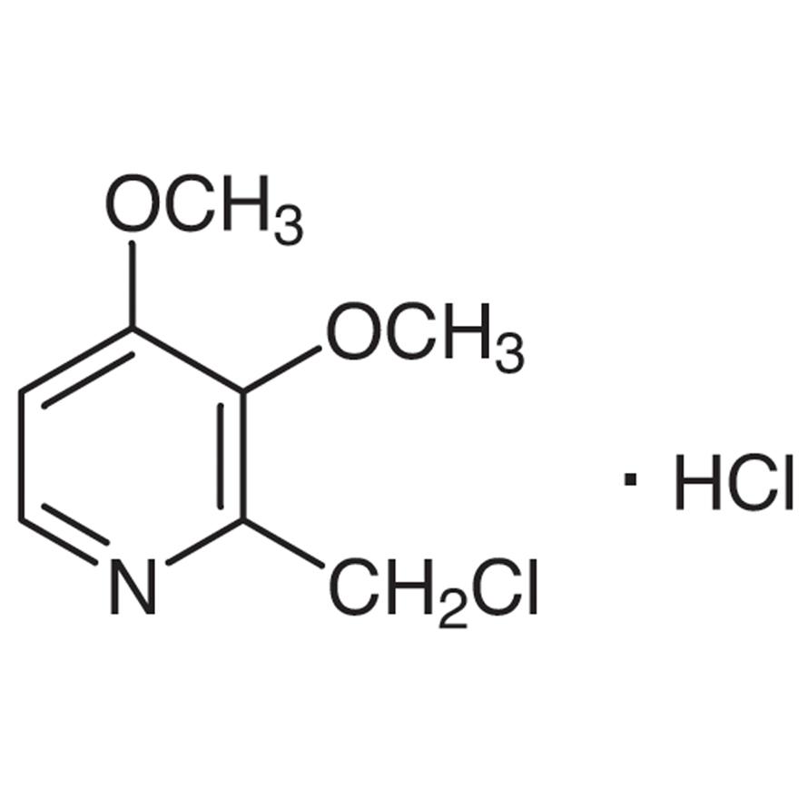 2-(Chloromethyl)-3,4-dimethoxypyridine Hydrochloride