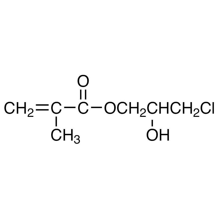 3-Chloro-2-hydroxypropyl Methacrylate (stabilized with HQ)