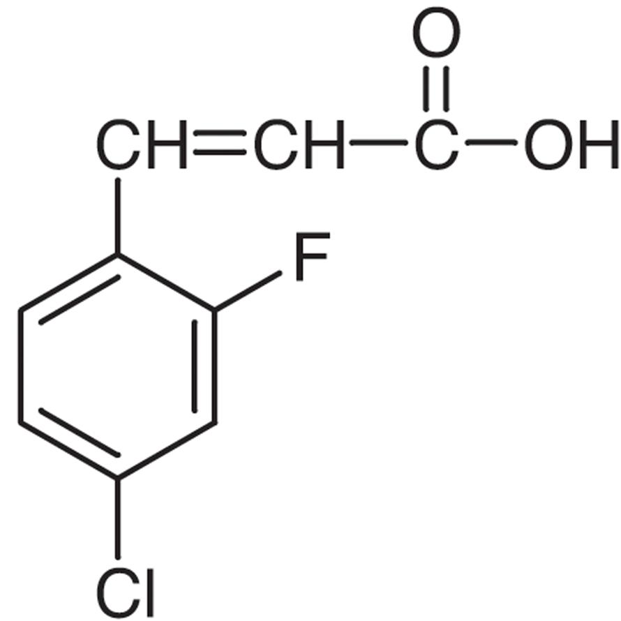 4-Chloro-2-fluorocinnamic Acid