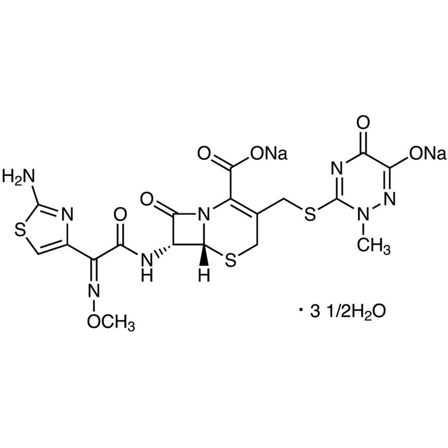 Ceftriaxone Disodium Salt Hemiheptahydrate