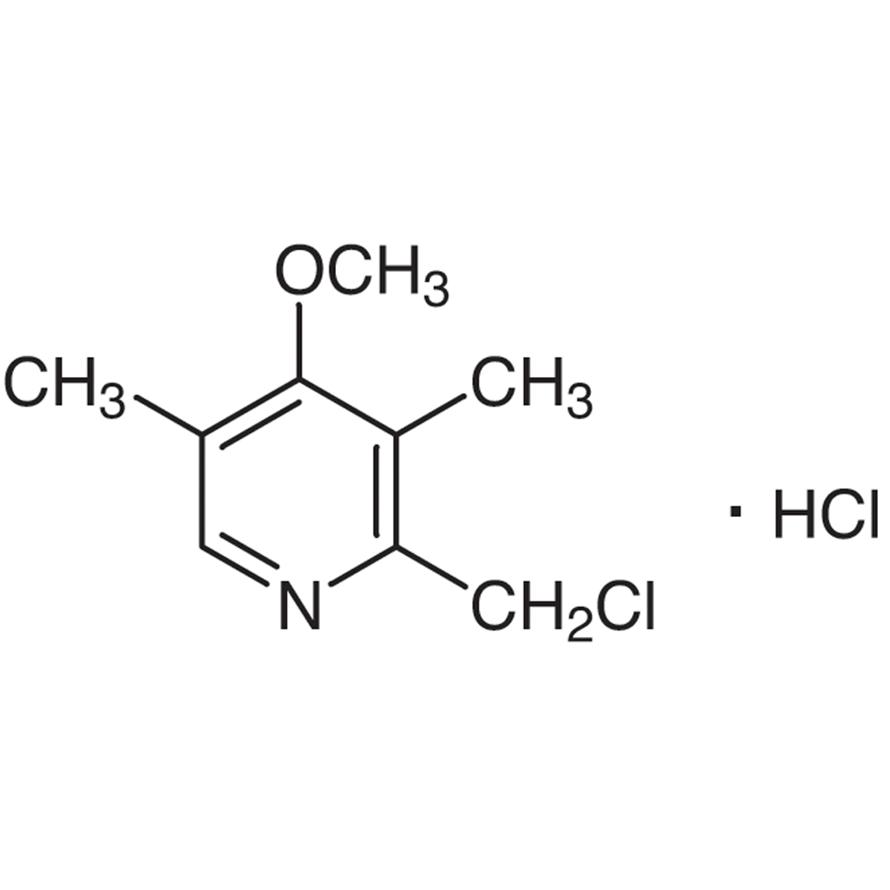2-(Chloromethyl)-4-methoxy-3,5-dimethylpyridine Hydrochloride