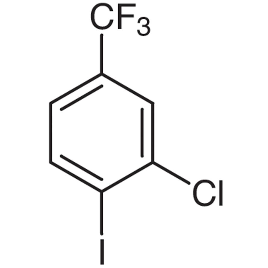 3-Chloro-4-iodobenzotrifluoride (stabilized with Copper chip)