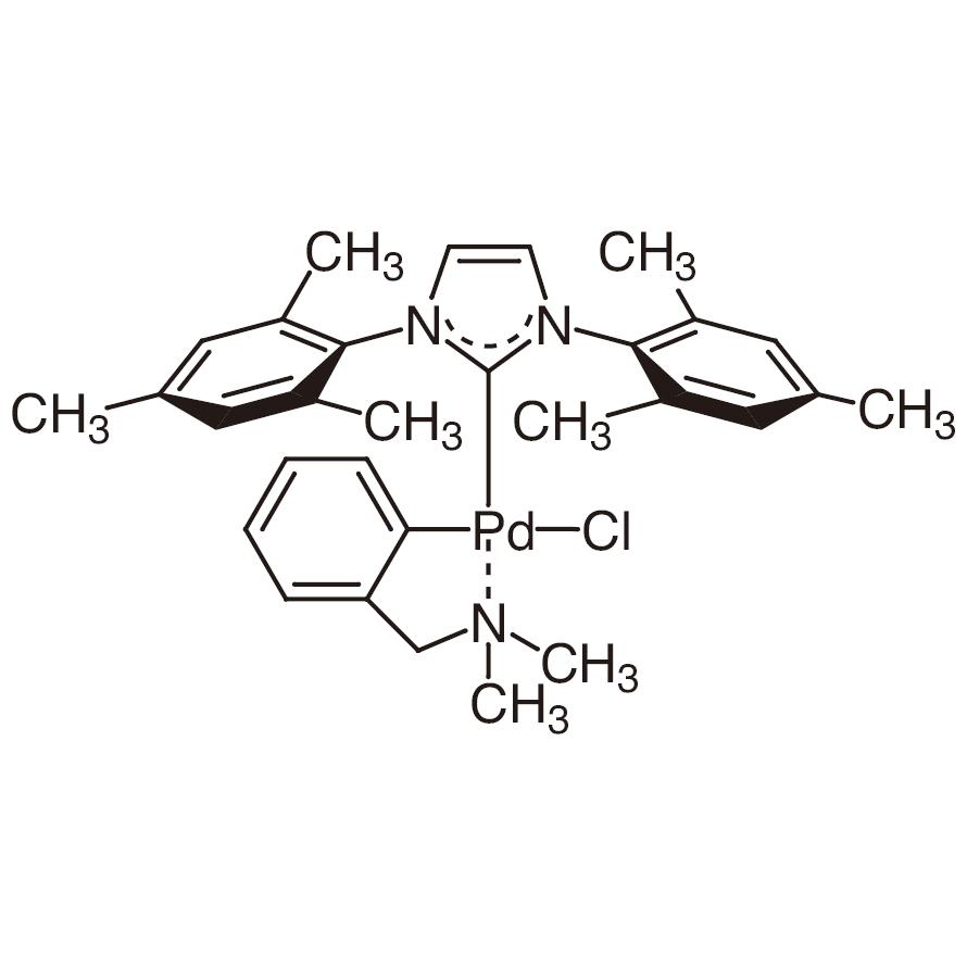 Chloro[(1,3-dimesitylimidazol-2-ylidene)(N,N-dimethylbenzylamine)palladium(II)]