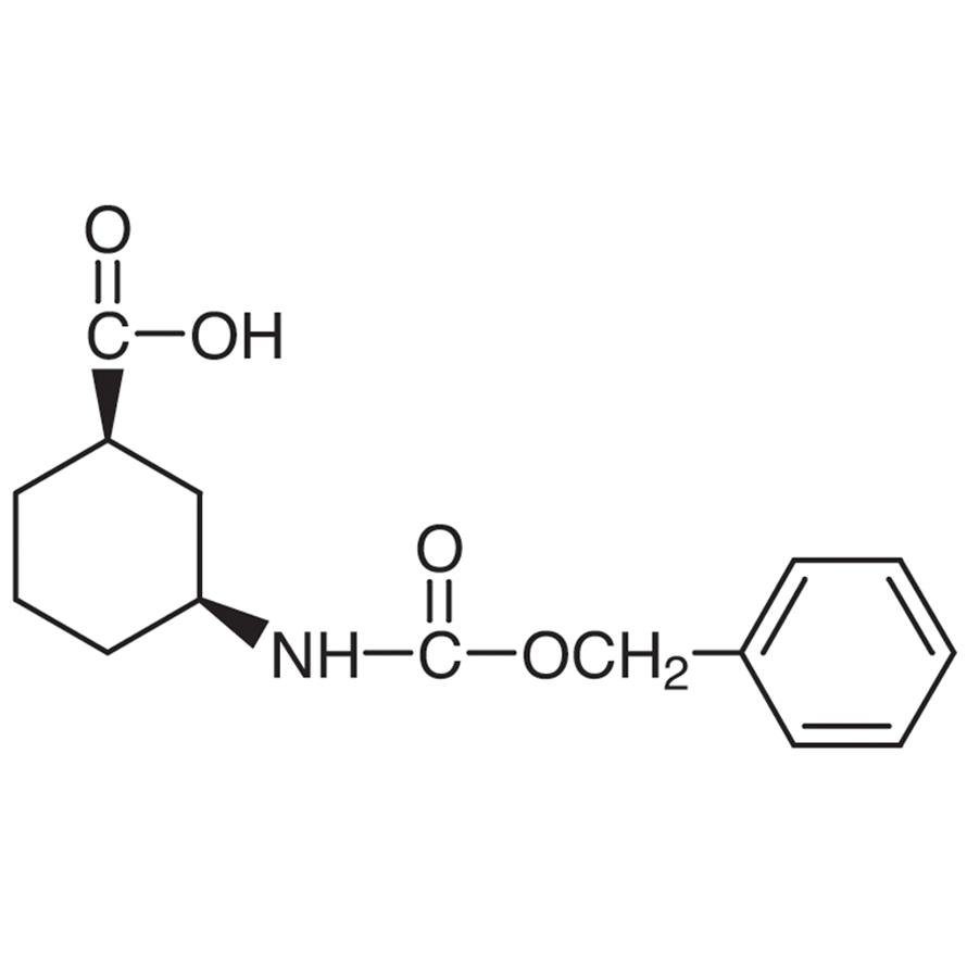 (1R,3S)-3-(Carbobenzoxyamino)cyclohexanecarboxylic Acid