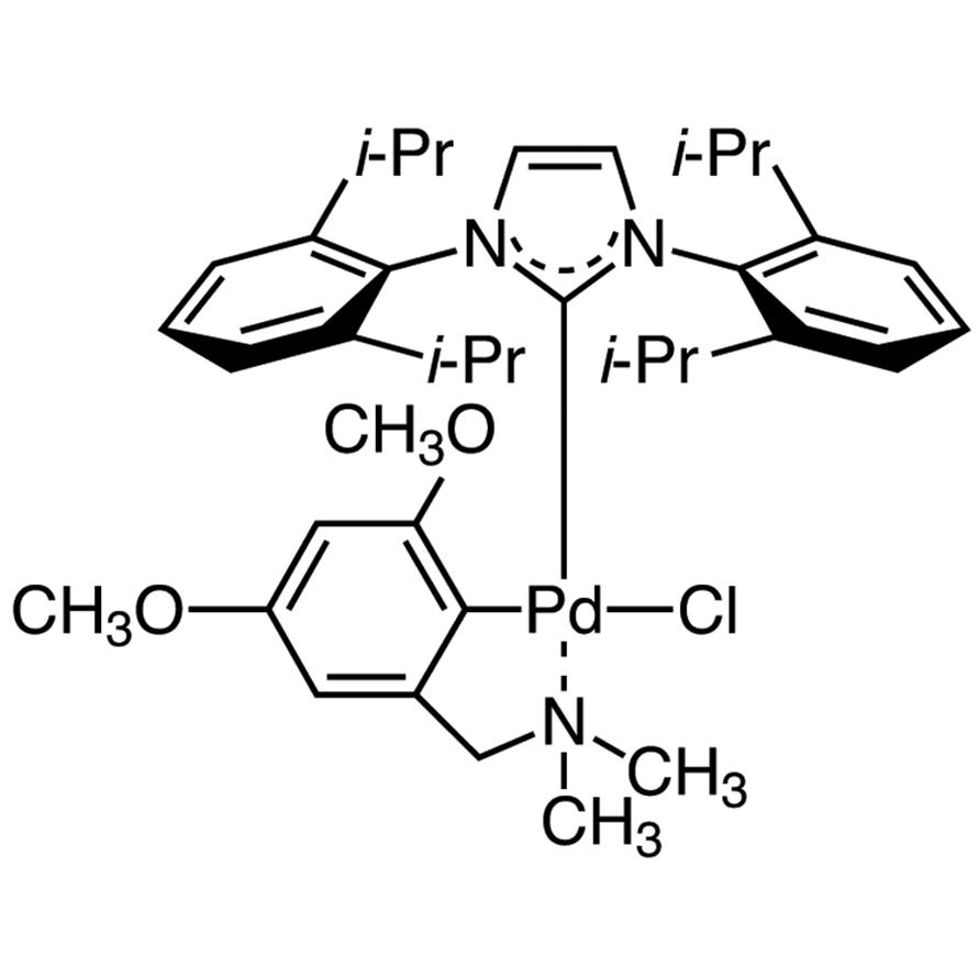 Chloro[[1,3-bis(2,6-diisopropylphenyl)imidazol-2-ylidene](N,N-dimethyl-3,5-dimethoxybenzylamine)palladium(II)]