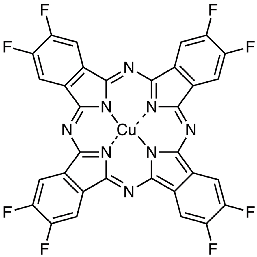 Copper(II) 2,3,9,10,16,17,23,24-Octafluorophthalocyanine (purified by sublimation)
