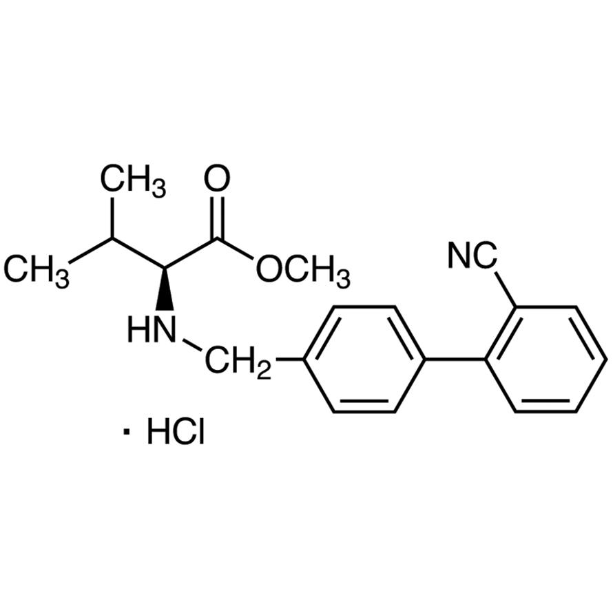 N-(2'-Cyanobiphenyl-4-ylmethyl)-L-valine Methyl Ester Hydrochloride