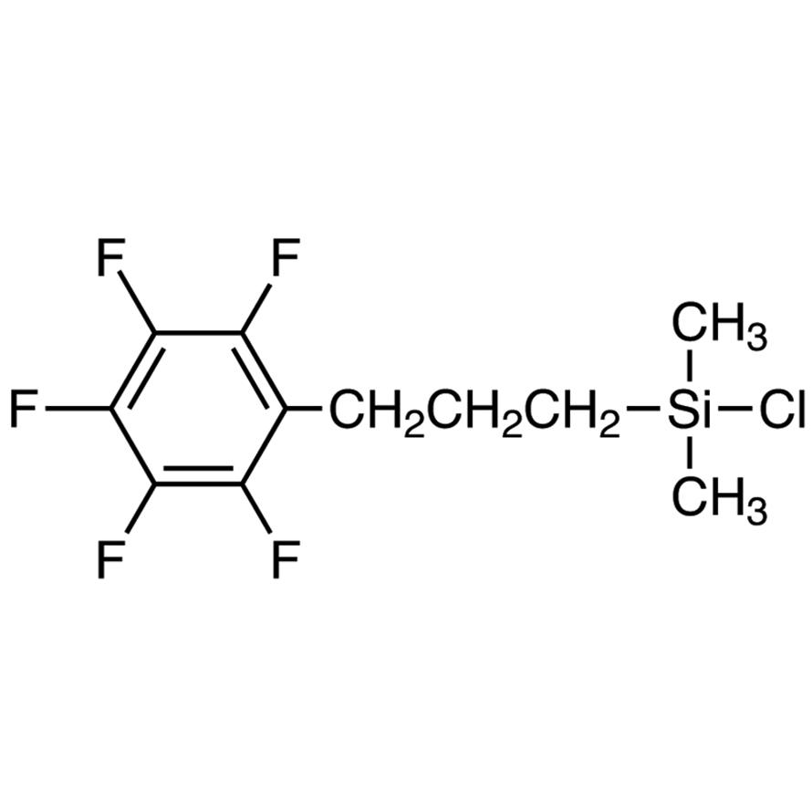 Chlorodimethyl[3-(2,3,4,5,6-pentafluorophenyl)propyl]silane
