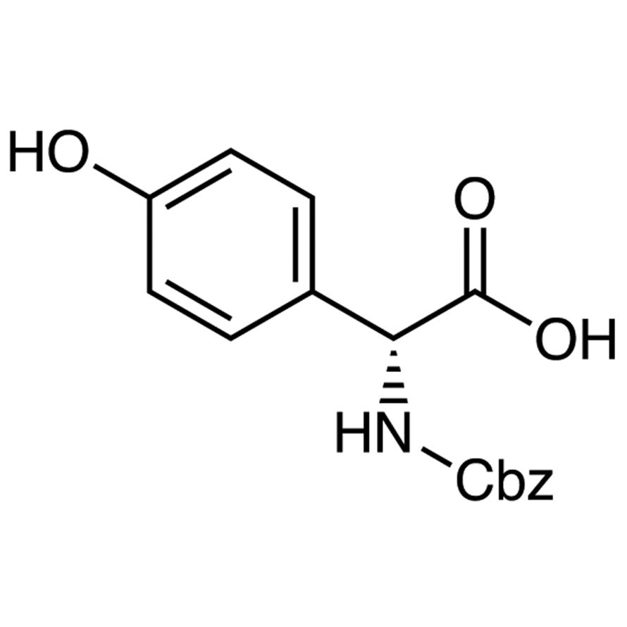 N-Carbobenzoxy-4-hydroxy-D-2-phenylglycine