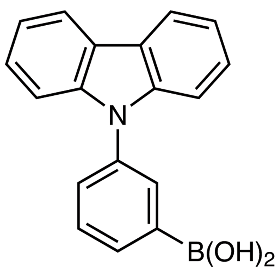 3-(9H-Carbazol-9-yl)phenylboronic Acid (contains varying amounts of Anhydride)
