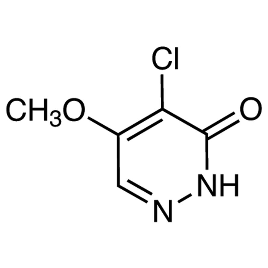 4-Chloro-5-methoxy-3(2H)-pyridazinone