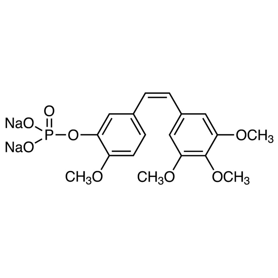 Combretastatin A4 Phosphate Disodium Salt