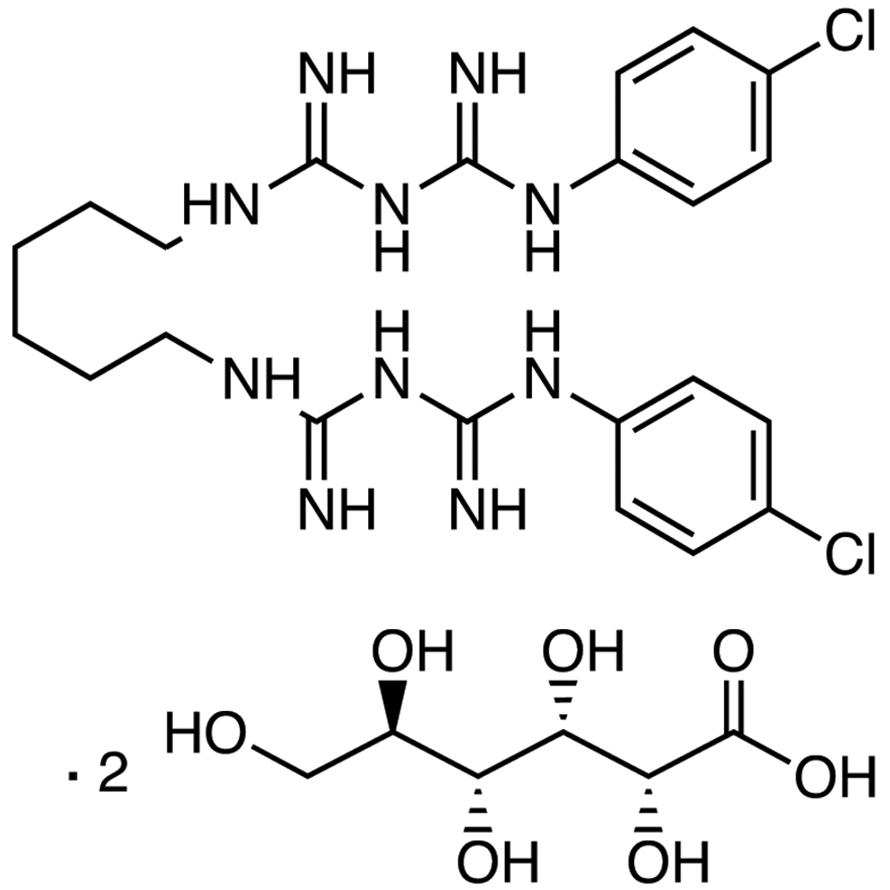 Chlorhexidine Digluconate (ca. 20% in Water)