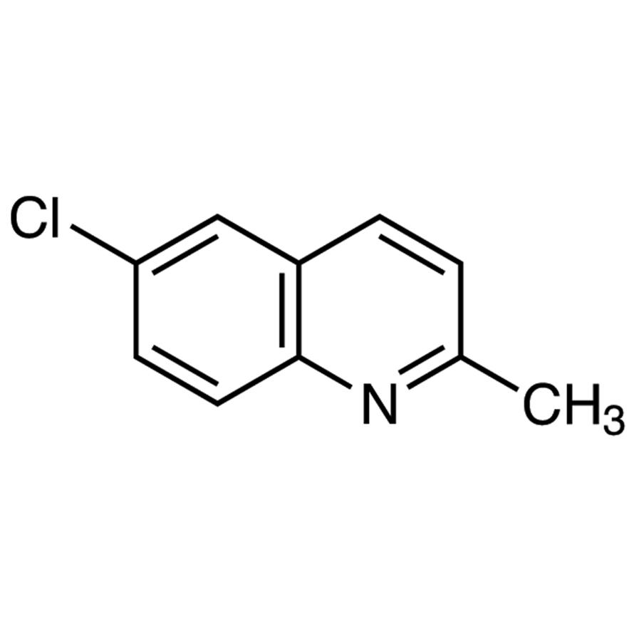 6-Chloro-2-methylquinoline