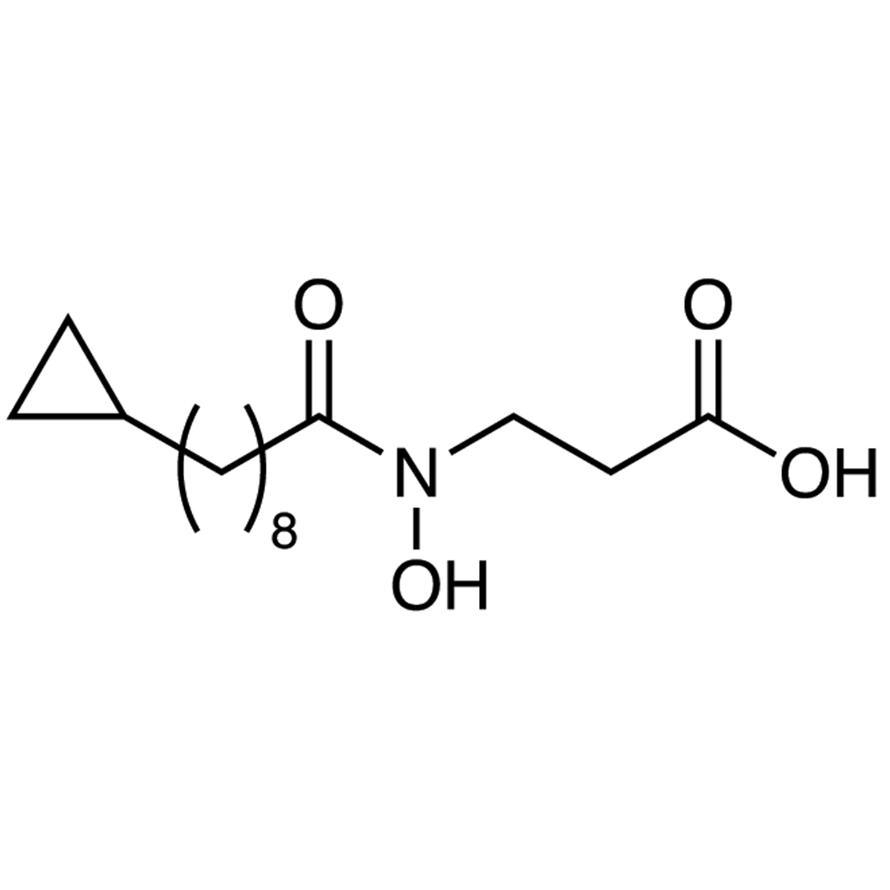 N-(9-Cyclopropyl-1-oxononyl)-N-hydroxy--alanine