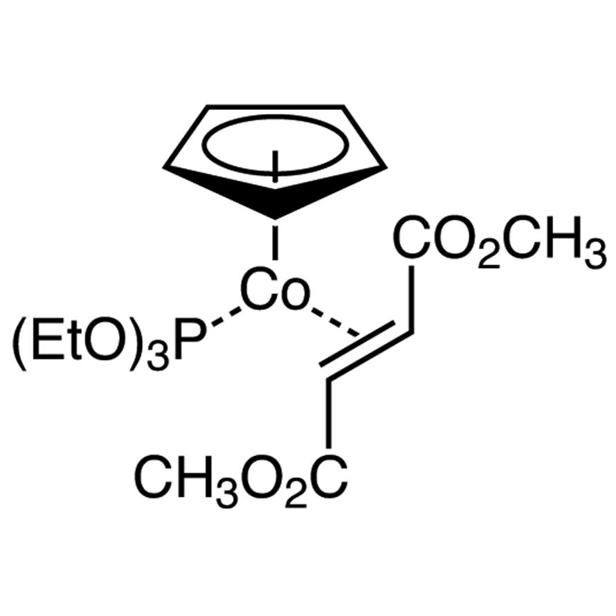Cyclopentadienyl(dimethyl fumarate)(triethyl phosphite)cobalt(I)