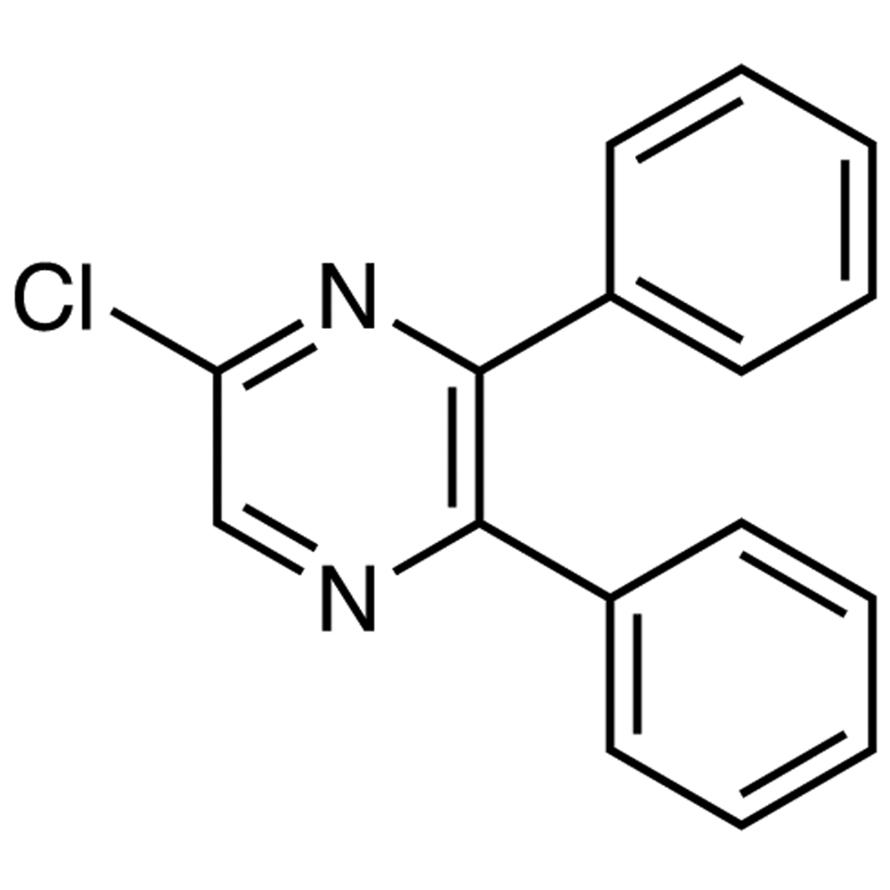 5-Chloro-2,3-diphenylpyrazine