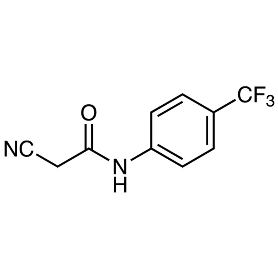 2-Cyano-N-[4-(trifluoromethyl)phenyl]acetamide