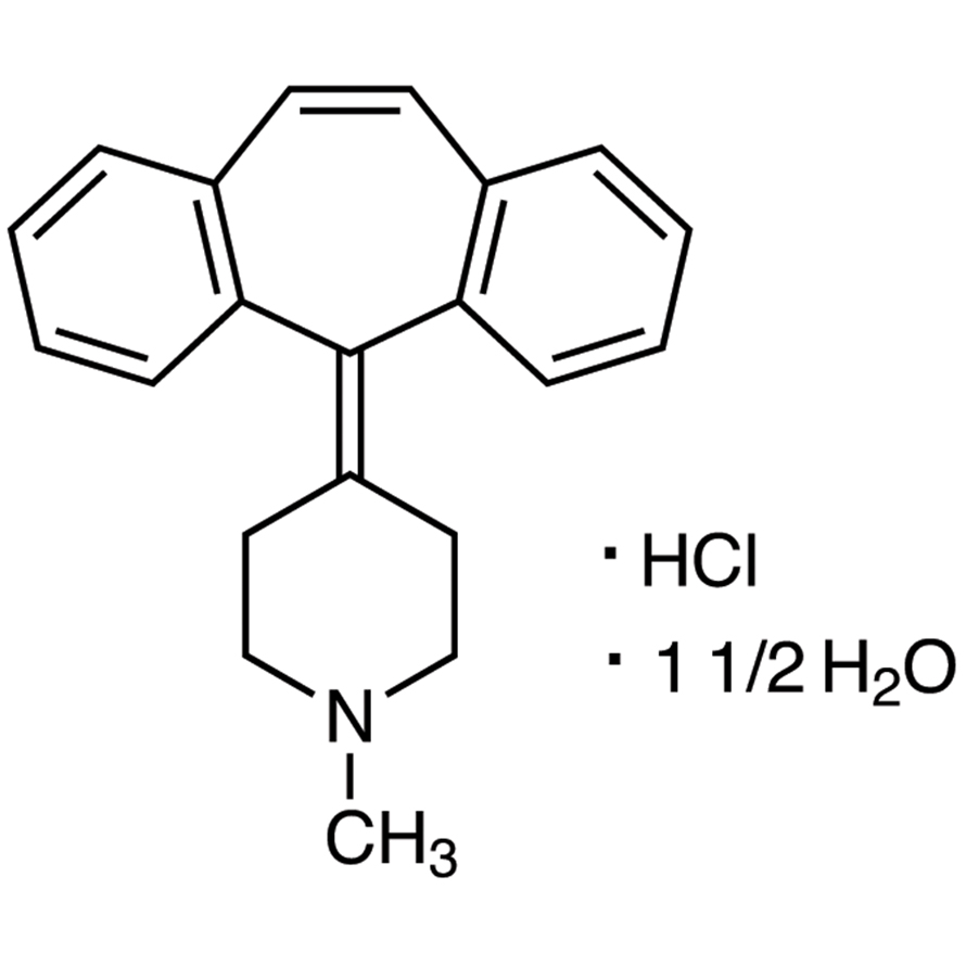 Cyproheptadine Hydrochloride Sesquihydrate