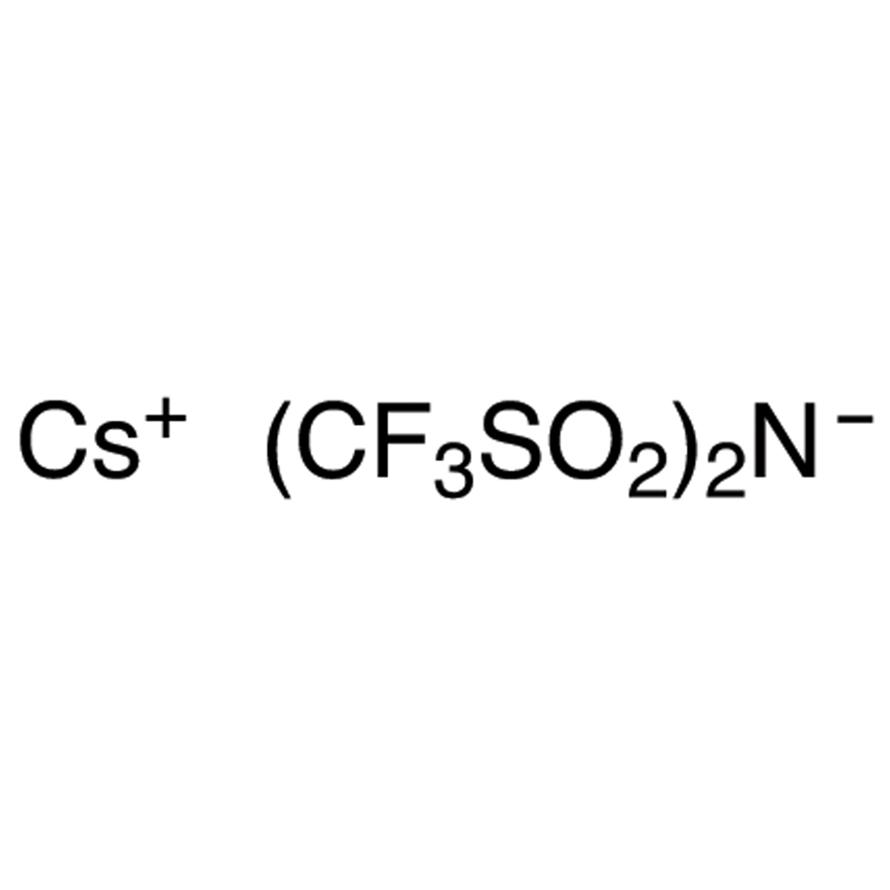 Cesium(I) Bis(trifluoromethanesulfonyl)imide
