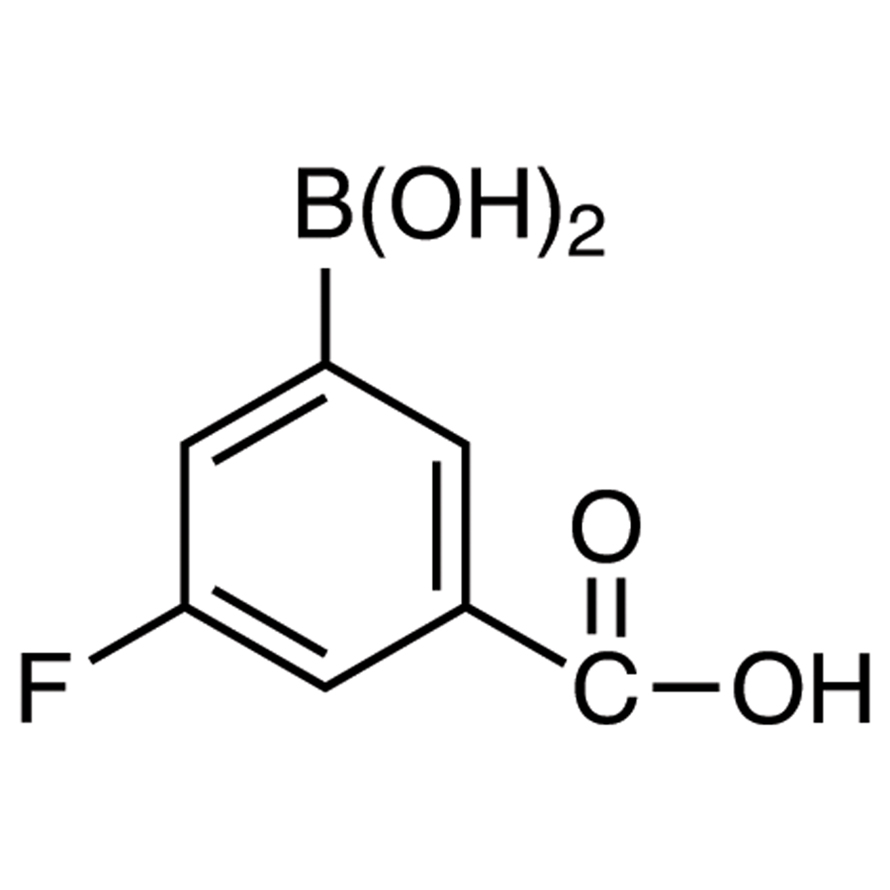 3-Carboxy-5-fluorophenylboronic Acid (contains varying amounts of Anhydride)
