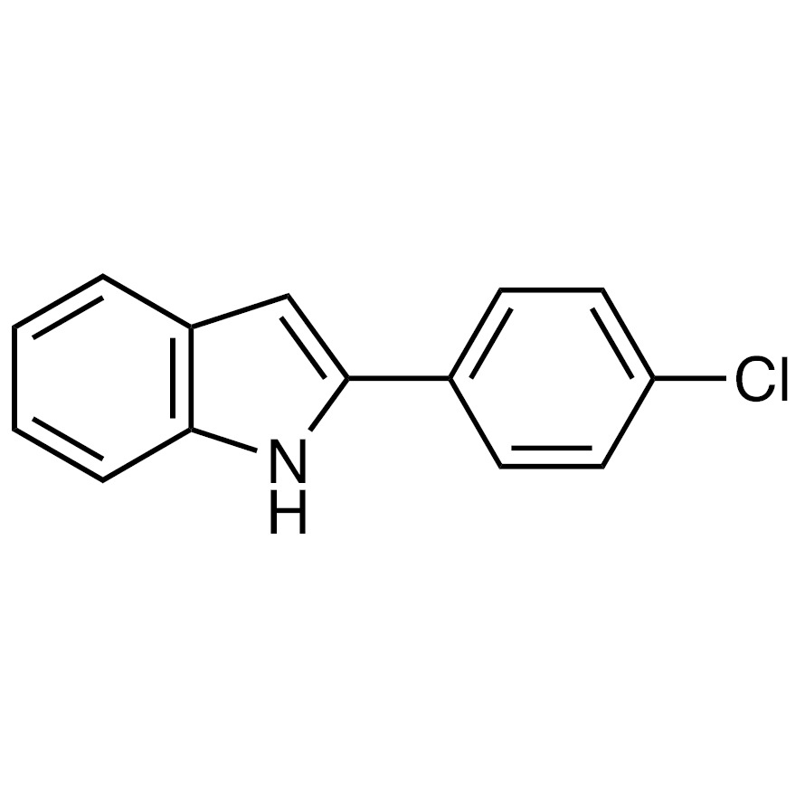 2-(4-Chlorophenyl)-1H-indole