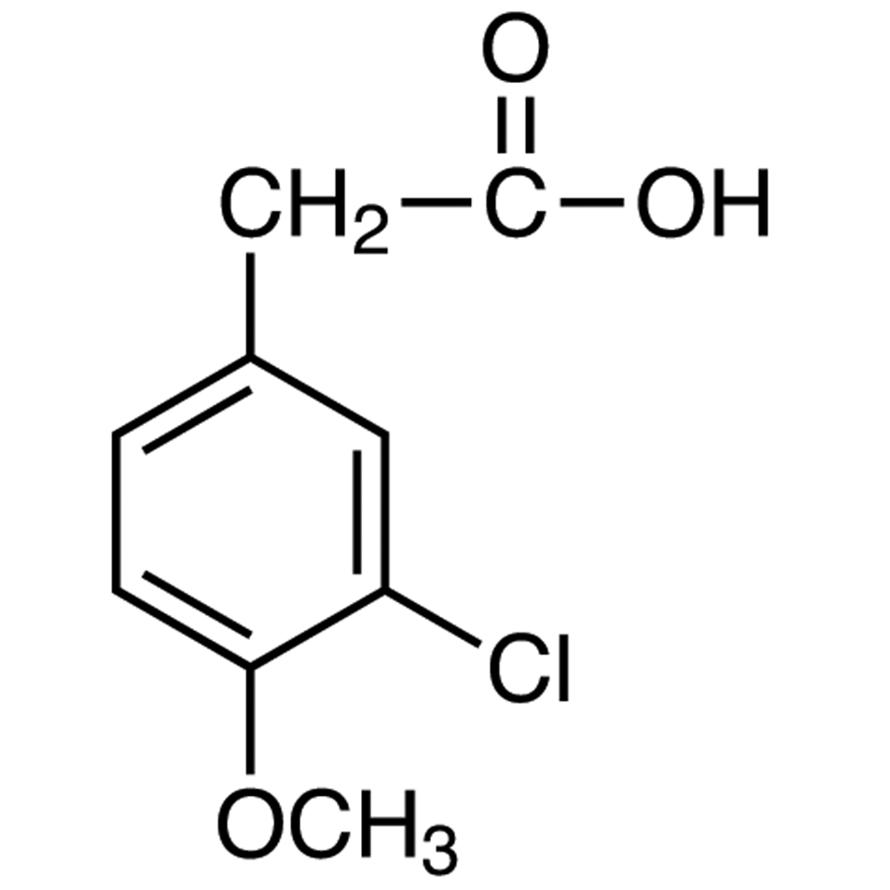3-Chloro-4-methoxyphenylacetic Acid