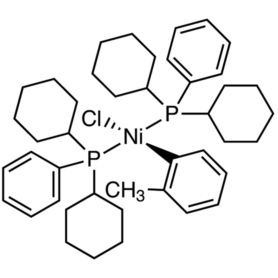 Chlorobis[dicyclohexyl(phenyl)phosphino](o-tolyl)nickel(II)