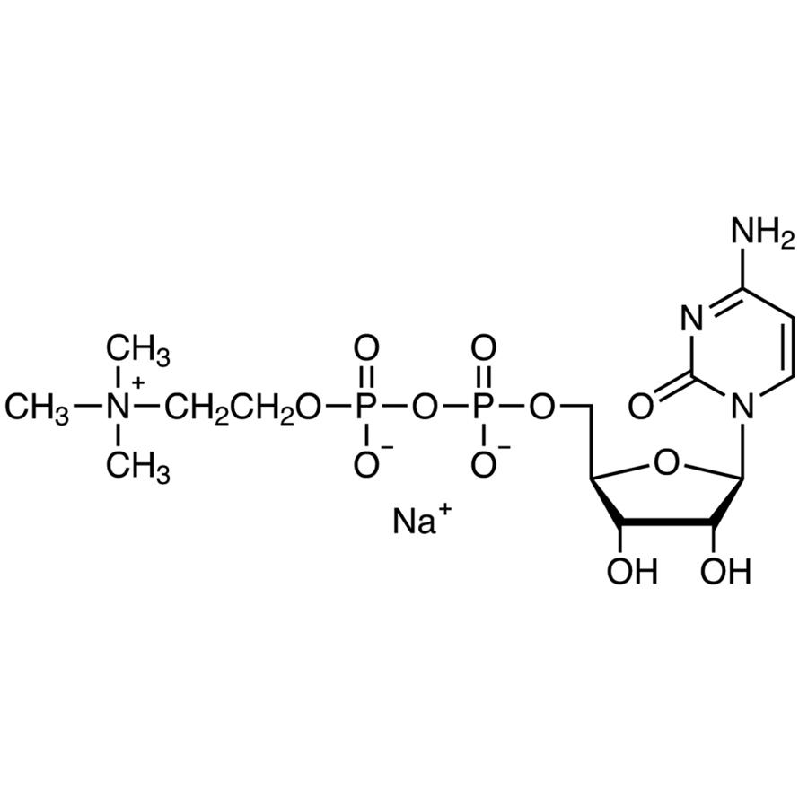 Cytidine 5'-Diphosphocholine Sodium Salt
