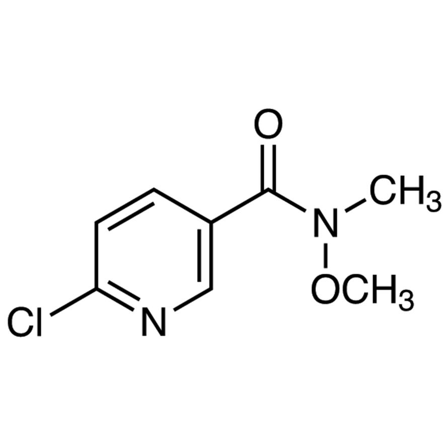 6-Chloro-N-methoxy-N-methylnicotinamide