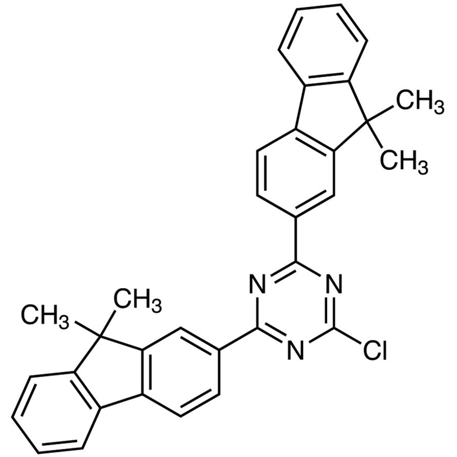 2-Chloro-4,6-bis(9,9-dimethyl-9H-fluoren-2-yl)-1,3,5-triazine