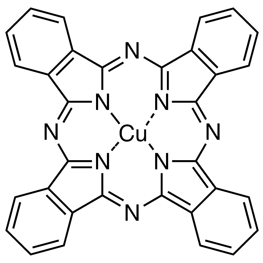 Copper(II) Phthalocyanine (purified by sublimation) [for organic electronics]