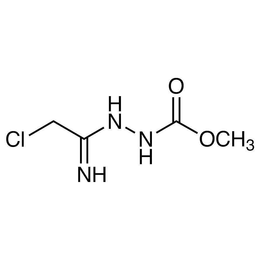 Methyl 2-(2-Chloro-1-iminoethyl)hydrazine-1-carboxylate