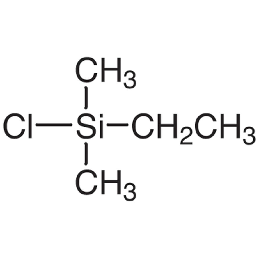 Chloro(ethyl)dimethylsilane [Dimethylethylsilylating Agent]