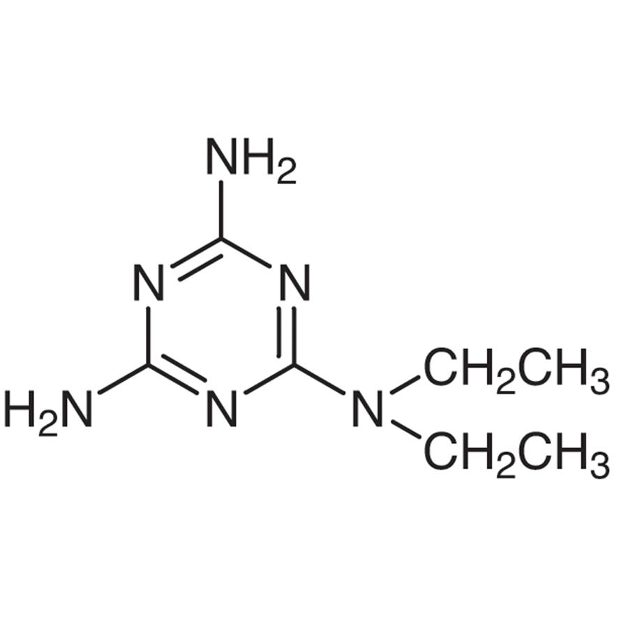 2,4-Diamino-6-diethylamino-1,3,5-triazine