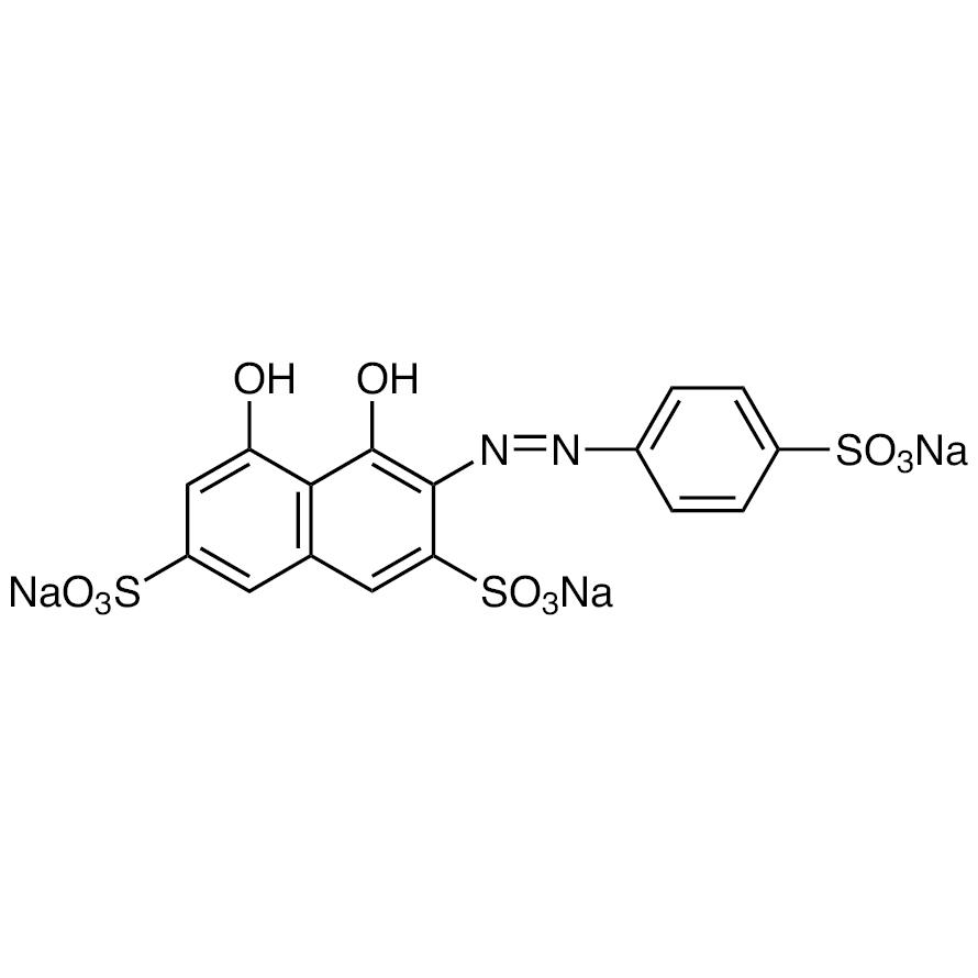 Trisodium 2-(4-Sulfophenylazo)-1,8-dihydroxynaphthalene-3,6-disulfonate