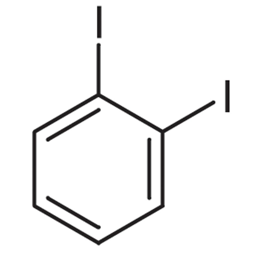 1,2-Diiodobenzene (stabilized with Copper chip)
