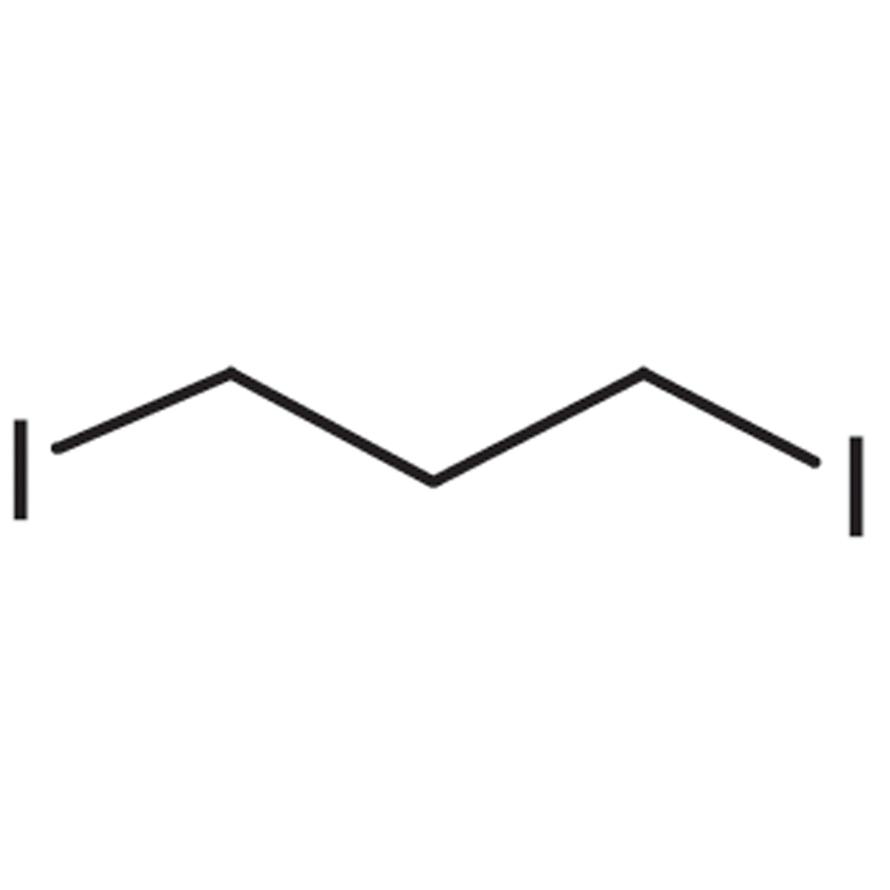 1,3-Diiodopropane (stabilized with Copper chip)