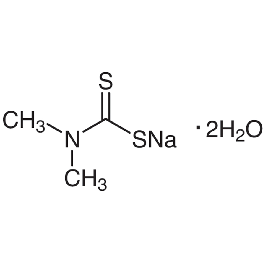 Sodium Dimethyldithiocarbamate Dihydrate