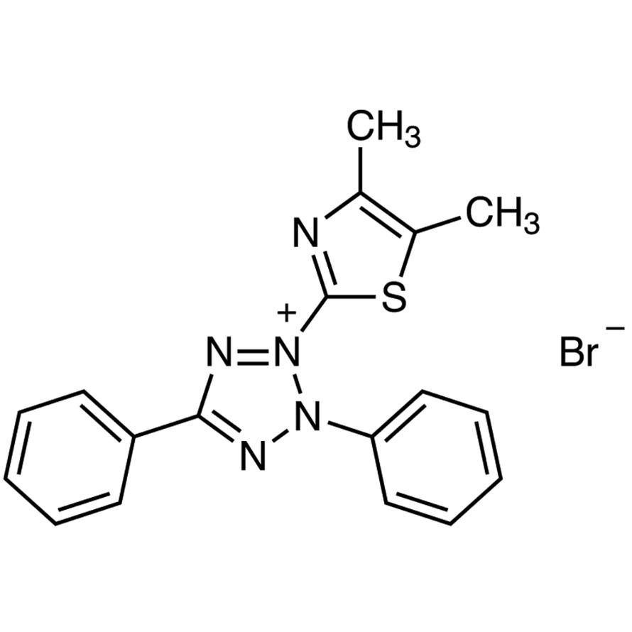 3-(4,5-Dimethyl-2-thiazolyl)-2,5-diphenyltetrazolium Bromide