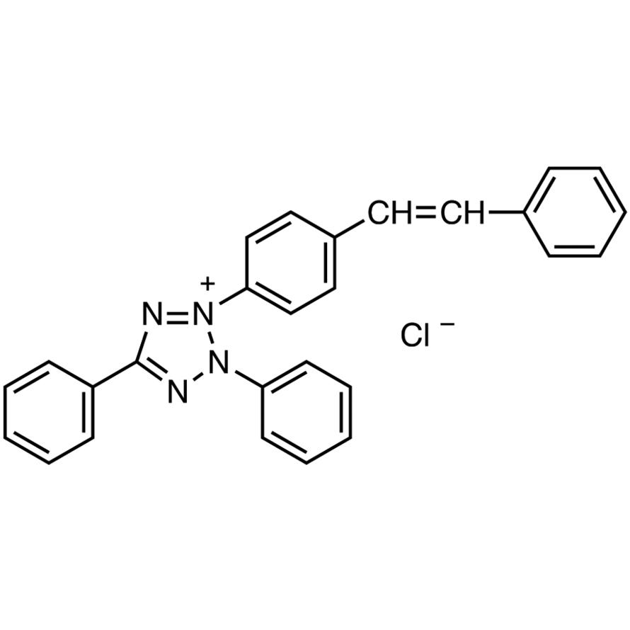 2,5-Diphenyl-3-(4-styrylphenyl)tetrazolium Chloride