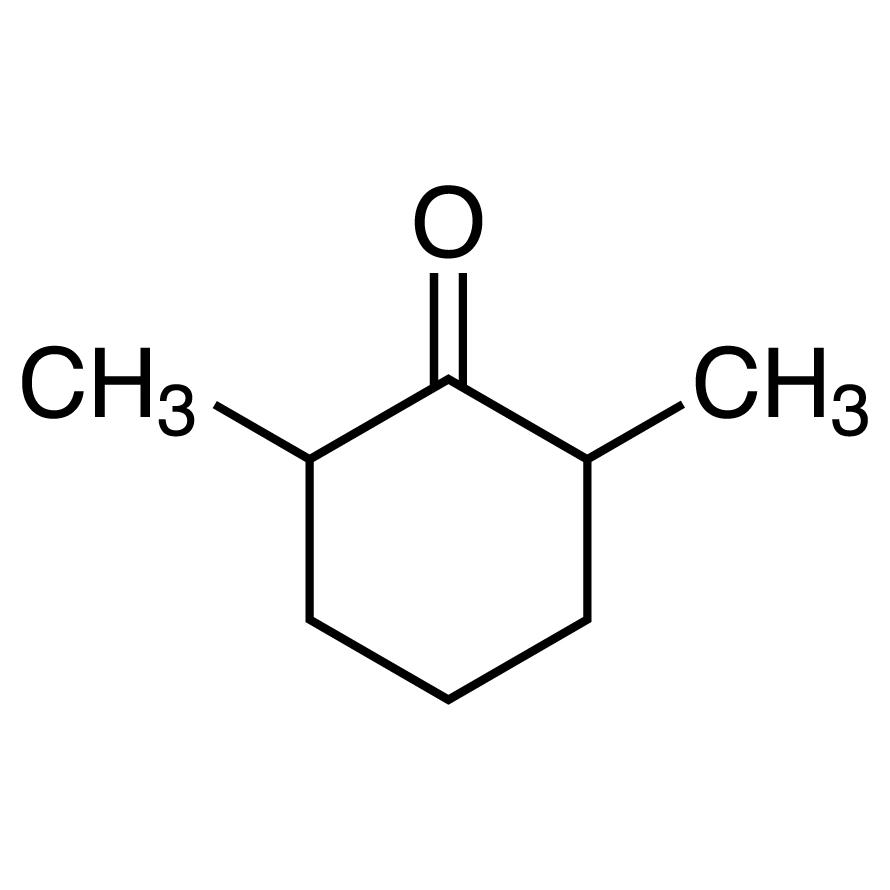 2,6-Dimethylcyclohexanone (mixture of isomers)