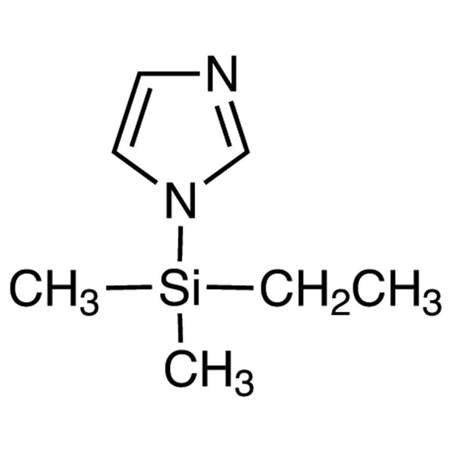 1-(Dimethylethylsilyl)imidazole [Dimethylethylsilylating Agent]